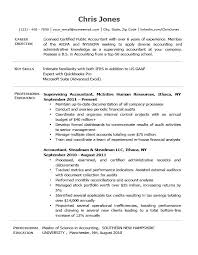 Example Of Job Objectives On A Resumes General Resume Objective