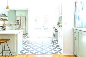 white kitchen with green tile backsplash blue and white tile blue and white tiles grout subway tile kitchen floor blue and white kitchen with green tile