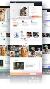 Veterinary Website Design Inspiration Pin On Ui Ux Design