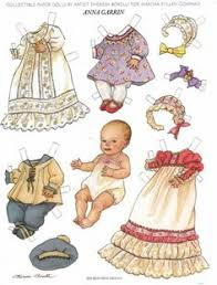 Small Picture Paper Dolls THERESA BORELLI did for Martha Pullen Company These