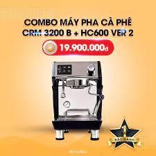 Combo máy pha cà phê Gemilai CRM 3200 B + Máy Xay HC 600 Ver 2