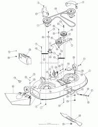 Mtd 13bn771g729 2006 parts diagram for deck assembly 42 inch