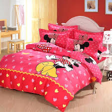 new arrival mickey and mouse king queen s cartoon comforter set minnie full size twin sets co
