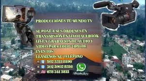 Producciónes TÚ MUNDO TV - Posts | Facebook