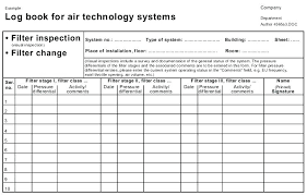 maintenance log sheet equipment heavy images of air conditioner template excel conditioning service strand definition