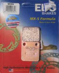 Details About Ebc Double H Sintered Motorcycle Brake Pads Fa296hh