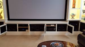 Home Theater Cabinet Built In Home Theater Cabinets Homes Design Inspiration
