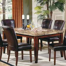 dining tables round marble top dining table round granite top dining table set brown marmer