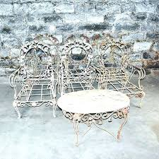 vintage iron patio furniture. Wrought Iron Furniture For Sale Vintage Patio Awesome  Metal . N
