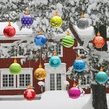 handmade outdoor christmas decorations. exterior, handmade outdoor christmas decorations ideas multi color pattern hanging shatterproof ornaments tree c