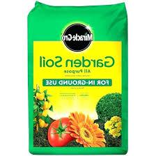 2 cu ft garden soil for flowers and vegetables miracle all purpose garden soil miracle all 2 cu ft garden soil
