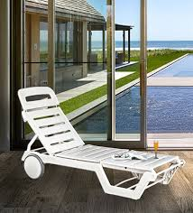 swing luxury sunlounger with wheels