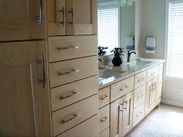 vanity linen wardrobe with removable hamper
