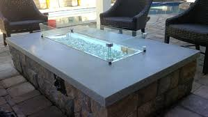 propane glass fire pit fire pit glass ship design