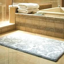 oversized bathroom rugs memory foam bath rug inspiring extra long oval white cotton