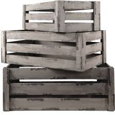 Large Wooden Boxes To Decorate Set of 100 Large Nested Wooden Crates Box Distressed Timber Rustic 91