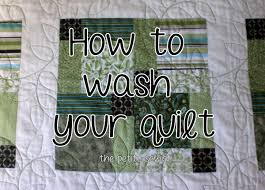 How to Wash Your Quilt - The Petite Sewist & It's been almost two years since Scott and I got hitched, and it got me  thinking…..I haven't ever washed our wedding quilt. (Don't judge – I use a  sheet and ... Adamdwight.com