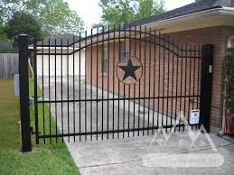 Metal Fence And Gates Iron Fence Gate Alamo Arch Summit Fence