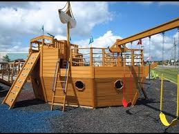building a wooden ship playhouse pirate ship playhouse plans review is it worth the cost