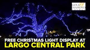 Largo Central Park Christmas Lights 2018 Largo City Park Christmas Lights