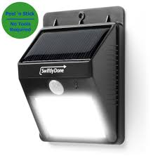 Amazoncom  Swiftly Done Bright Outdoor LED Light Solar Energy - Exterior led light