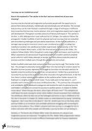 analytical essay on catcher in the rye lab report paper writers analytical essay on catcher in the rye