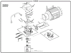 homelite hu80220 electric pressure washer parts diagram for wiring figure b