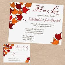 fall wedding invitation ideas distinctive fall wedding invitations ideas fall wedding invitations
