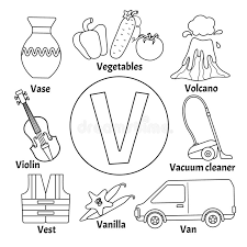 Free alphabet coloring pages on our website. Vector Cute Kids Alphabet Stock Vector Illustration Of Magazine 135351169