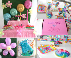 Trolls Party Ideas Girls Party Ideas At Birthday In A Box