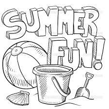 Summer Fun Coloring Activitiesll