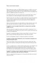 Sample Resume Objectives Utah Staffing Companies
