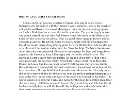 es romeo and juliet essay about family