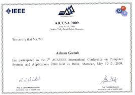 Acap Resume Builder International Conference Certificate Templates
