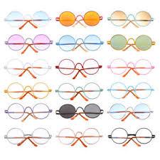 Blythe Doll Size Chart Details About Fashion Round Frame Glasses For 1 6 Bjd Dollfie Blythe 9cm Salon Doll Exo Doll