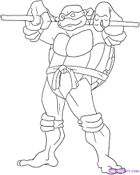 Ninja Turtle Coloring Pages - Free Printable Pictures Coloring ...