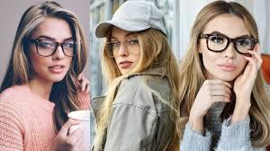 how to style glasses for women girls 2018 eyewear frames trends