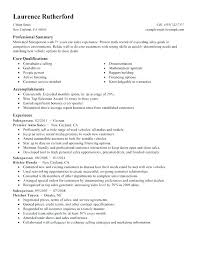 Example Of A Sales Resume Sample Resume For Sales Executive Resume ...