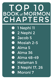 Book Of Mormon Quotes Unique My Top 48 Chapters In The Book Of Mormon The Mormon Home