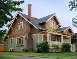 Pacific Northwest Architecture Craftsman Style House..not so much the color  but the style