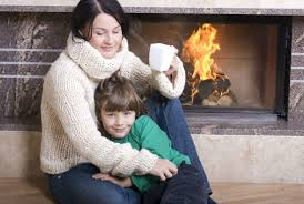 having a fireplace stove or heater installed in one room of your home can ensure that your family will be safe and warm during a winter power outage