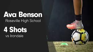 "Ava Benson's (Roseville, MN) Video ""4 Shots vs Irondale ""   MaxPreps"