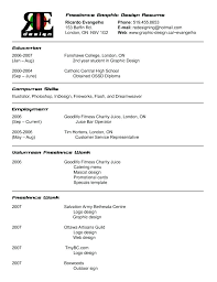 Graphic Design Resume Objective Freelance Graphic Design Resume Spectacular Freelance Designer 71