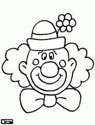 Drawn Clown Color Pencil And In Color Drawn Clown Color