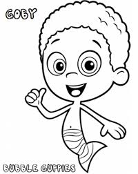 Small Picture Printable Bubble Guppies Coloring Pages Coloring Me