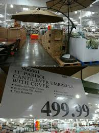 new costco 11ft offset umbrella with base for in edgewood wa offerup