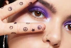 тренд или нет тату штампы для макияжа