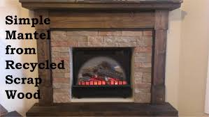 how to make a fake fire for a faux fireplace building a fireplace mantel from s