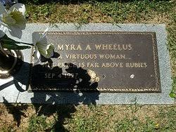 Myra Andrews Wheelus (1927-2011) - Find A Grave Memorial