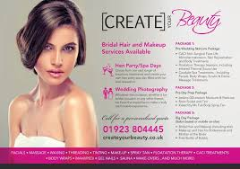 bridal packages create your beauty watford hertfordshire